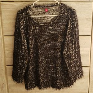 Vince Camuto boxy sparkly top